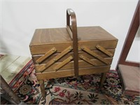 3 TIER EXTENDABLE SEWING BOX