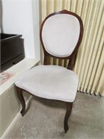 4 PADDED BALLOON BACK CHAIRS