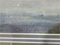DORIS LAW UNTITLED LANDSCAPE WATERCOLOUR
