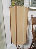 """RETRO TEAK 65.5"""" FLOOR LAMP"""