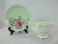 TWO PARAGON CUPS & SAUCERS