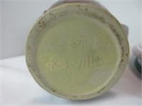 "ROSEVILLE 8"" HANDLED POTTERY JAR"