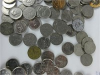 TRAY: ASSORTED CANADIAN NICKELS