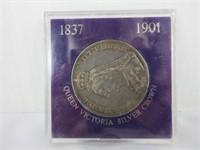 1892 QUEEN VICTORIA SILVER COIN