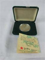 1988 CALGARY OLYMPIC GAMES SILVER $20 COIN
