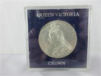 1889 QUEEN VICTORIA SILVER COIN