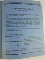 CANADIAN SMALL CENT ALBUM- PARTIAL