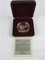 1991 CANADIAN SILVER DOLLAR COIN