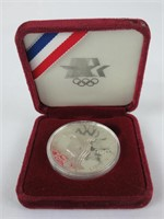 1983 LOS ANGELES OLYMPIC GAMES SILVER DOLLAR