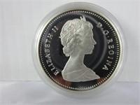 1989 CANADIAN SILVER DOLLAR COIN