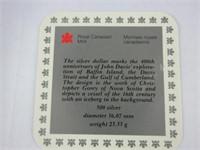 1987 CANADIAN SILVER DOLLAR COIN