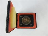 1973 CANADIAN SILVER DOLLAR COIN