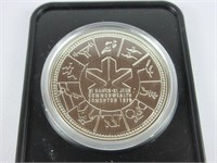 1978 CANADIAN $1 COMMONWEALTH GAMES COIN