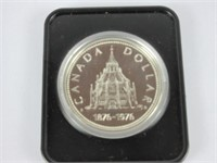1976 CANADIAN SILVER DOLLAR COIN