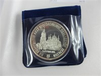1991 INDEPENDENCE OF THE UKRAINE SILVER COIN