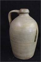 "8"" Handled pottery jug"