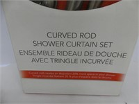 LINENS 'N THINGS CURVED SHOWER ROD SET