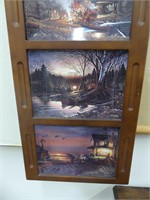 TERRY REDLIN WOODLAND CANOE PLATE COLLECTION