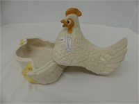 "7"" HEN W/CHICKS COVERED DISH"
