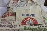 Advertising bags Timothy seeds, Double Cut Red