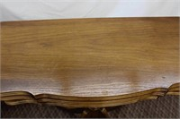 Oak Duncan Phyfe fold over games table