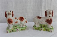 """China bookends 5 X 2.5 X 4.75""""H"""