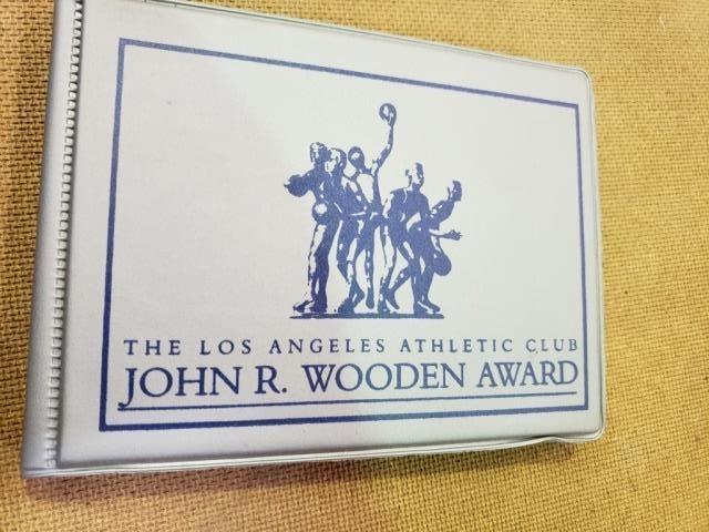 John R Wooden Award Trading Card Set Grubstake Auction Co Inc