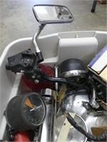 TOTE: 1960S-70S HONDA MOTORCYLCE PARTS