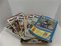 TRAY: THE CLASSIC MOTORCYCLE & OTHER MAGAZINES