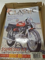 TRAY: CLASSIC BIKE GUIDES & OTHER MAGAZINES
