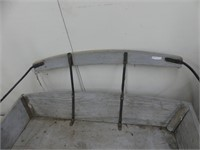 """47"""" ANTIQUE BUGGY SEAT"""