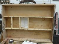 WOODEN ARTIST'S BOX