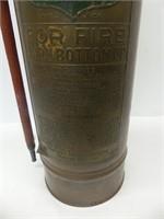 FOAMITE COPPER FIRE EXTINGUISHER