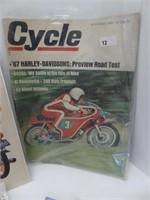 BOX: MOTORCYCLE MAGAZINES & ADVERTISEMENTS