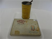 CIGARETTE FLAT & GAS MEASURING CAN