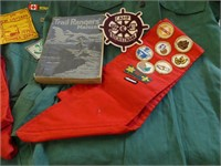 BOX: BOY SCOUTS OF CANADA SHIRTS, BADGES, ETC.