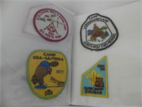 ALBUM: APPROX. 45 SCOUTS CANADA BADGES