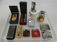 TRAY: ASSORTED LIGHTERS