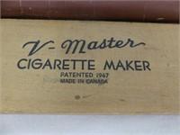 V-MASTER CIGARETTE MAKER