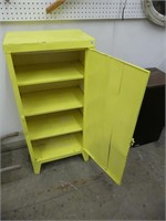 VINTAGE STEEL PAINTED CABINET