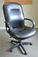 Leather Look Executive Office Chair