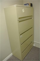 5 Drawer Legal Size Metal Filing Cabinet