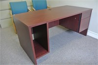 Cherry Finish Office Desk