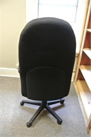 Upholstered Adjustable Office Arm Chair