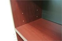 Cherry Finish Adjustable Book Shelf