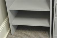 Grey Office Shelf