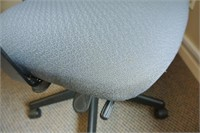 Charcoal Upholstered Task Chair
