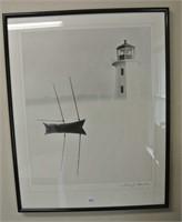 Decorative Lighthouse Framed Print