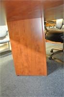 Pecan Finish Board Room Table