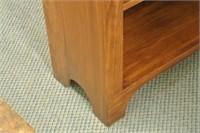 Arts & Crafts Style Pine Book Shelf